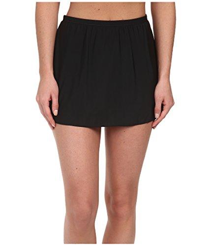 Miraclesuit Women's Miracle Separates Skirted High Waist Bikini Bottom Black 8