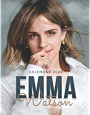 Emma Watson Calendar 2022: 2022 Calendar-Emma Watson Official 2022 Monthly Planner, Square Calendar with 18 Exclusive Emma Watson Photoshoots from September 2021 to December 2022 18-month Monthly Calendar. Music Pop Singer Songwriter Celebrity