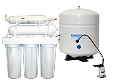 50 Gallon Per Day 5-Stage Home Reverse Osmosis Drinking Water System