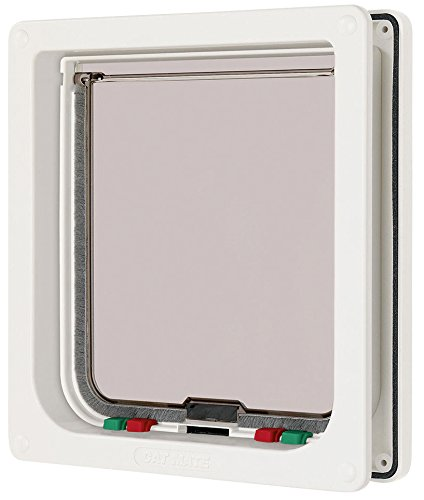 Cat Mate Large Cat Door White (Cat Door For Door compare prices)