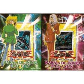 - Yu-Gi-Oh Joey/Pegasus RARE Spanish Version Starter Deck Combo