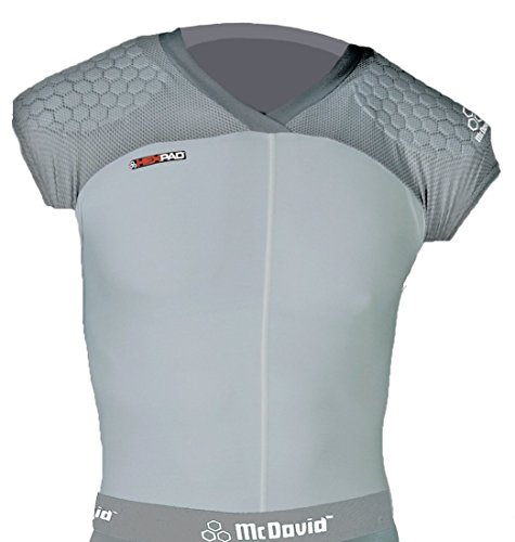 McDavid shell shirt-gray-xxxlarge (Sr Girdle)