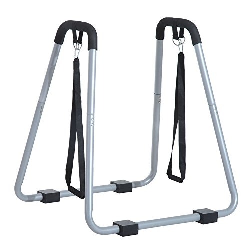 Soozier Dip Stand/Body Press Fitness Station with Push Up Straps by Soozier