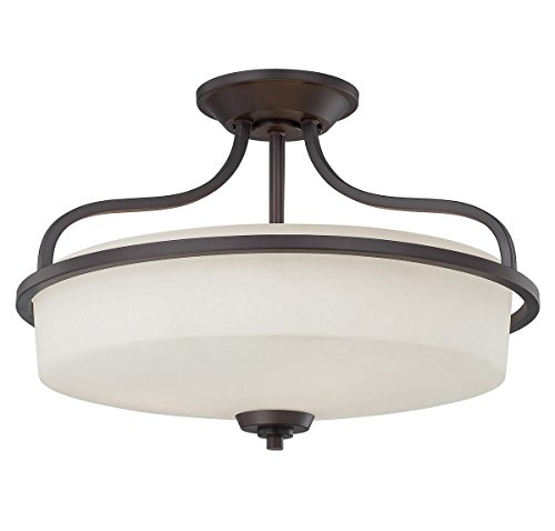 Savoy House 6-6224-3-13 Three Light Semi-Flush for sale  Delivered anywhere in USA