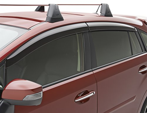 Subaru Genuine Side Window Deflectors 2013 TO 2017 Crosstrek 2012 TO 2016 Impreza Wagon E3610FJ660 - Subaru Wind Deflectors