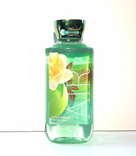 Bath & Body Works Pear Blossom AIR Shower Gel 10 oz / 295 mL (Pack of (Mandarin Moisturizing Cleanser)