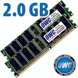 2.0GB PC2700 Memory Upgrade Kit - 2x1GB Matched Pair of DDR 333MHz CAS 2.5 184 Pin ()