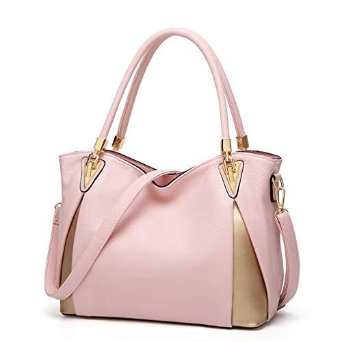 2976ed7e5505 Montmo Women Soft Leather Handbags Casual Simple Hobo Style Shoulder Bags  Tote Cross Body Purses (