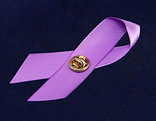 Epilepsy Awareness Purple Ribbon Bangle Bracelet /& Epilepsy Awareness Satin Pin