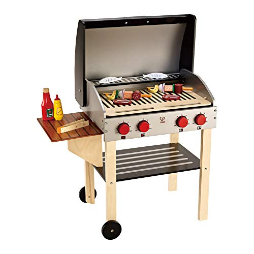 Award Winning Hape Gourmet Grill and Shish Kabob Wooden Play Kitchen