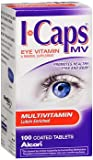 ICaps MV Multivitamin Coated Tablets – 100 ct, Pack of 2