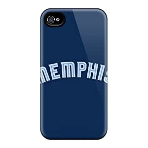 Durable Defender Case For Iphone 4/4s Tpu Cover(nba Atlanta Hawks 1) by mcsharks