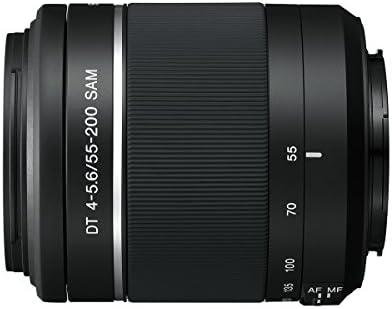 Sony 55 200 Mm F 4 5 6 Sam Dt Teleobjektiv Für Sony Kamera
