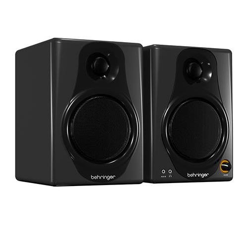 Behringer Media 40 USB Powered Studio Monitor Pair - 40 Watts MEDIA40USB