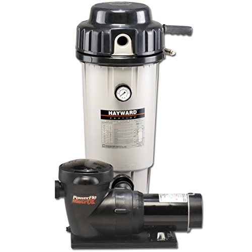 Hayward EC50C92S Perflex Extended-Cycled 1-Horsepower D.E. Filter System