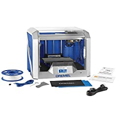"""The Dremel Digilab 3D40 Idea Builder 3d printer is Dremel's best 3D printer for classroom use or to use at home. 3D printing beginners, teachers and children alike will appreciate the large 4.5"""" full color touchscreen with an intuitive interf..."""