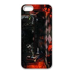 Custom Alice in Wonderland Back Cover Case for iphone5,5S JN5S-622