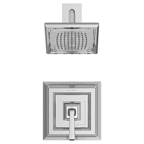- American Standard T455501.002 Town Square S Shower Valve Trim Kit in Polished Chrome,