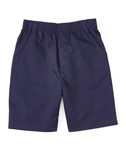 unik Boys All Elastic Waist Pull up Shorts Navy Khaki Black