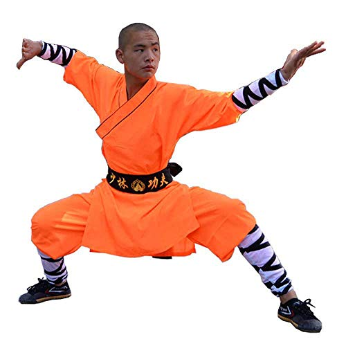 Chinese Traditional Shaolin Temple Warrior Monk's Robe Martial - Import It  All