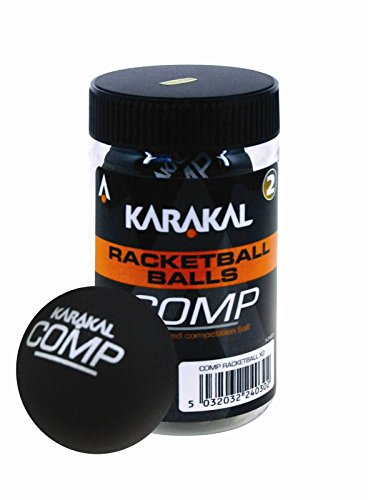 Karakal Comp Racketball Balls Tube Of 4