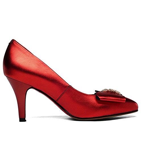 Nine SevenPumps - Sandalias con cuña mujer Red