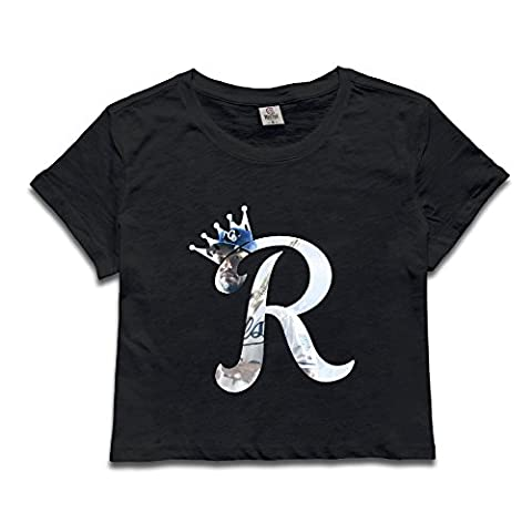 Custom Woman Eric R Hosmer Baseball Player Contrast Color Size M Black (One Direction Signed Shirts)
