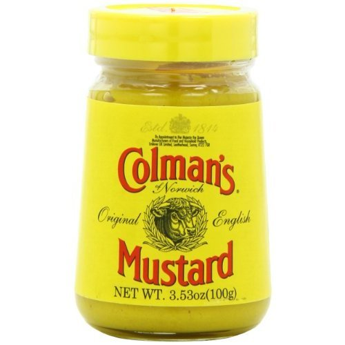 Colman's Mustard, 3.53 Ounce (Pack of 6) carrier to shipping international usps, ups, fedex, dhl, 14-28 Day By Dragon Shopping