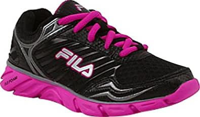 Fila Boy's FRESH Lace Up Purple Running Sneakers 14 M