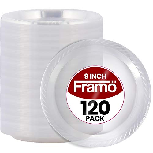 9 Inch Disposable Clear