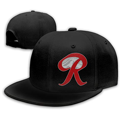 Rainier Beer Capital R Mountain Snapback Hats Baseball Caps for Men Black
