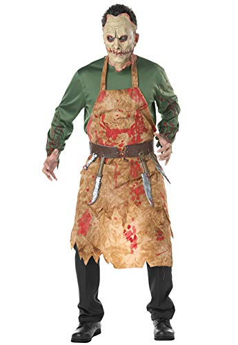 Tutu Dreams Halloween Scary Bloody Butcher Killer Costumes Sets for Men