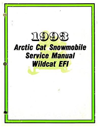 Download 2254-879 1993 Arctic Cat Wildcat EFI Snowmobile Service Manual pdf epub