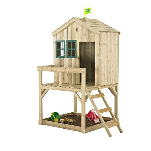 Forest Cottage Playhouse and Slide - Wooden Playhouse - TP Toys - Mookie