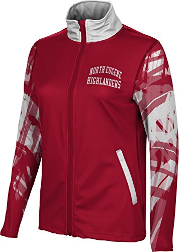 ProSphere Women's North Eugene High School Crisscross Full Zip Jacket (Apparel) F1352 -