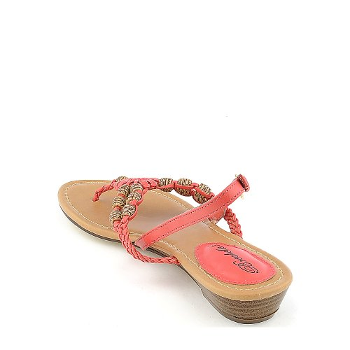 Breckelles Womens Ginny-04 Sandal Honey Suckle 46mpi