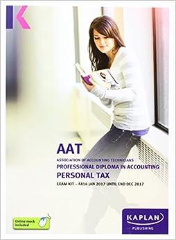 Book AAT Personal Tax FA2016 - Exam Kit (Aat Exam Kits Aq2016)