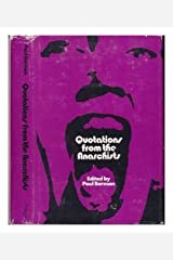 Quotations From The Anarchists. Hardcover