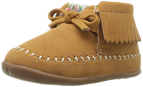 Carter's Every Step Girls' Stage 2 Stand,Gilly-SG Fashion Boot, Khaki,5.0 M US (9-12 Months)