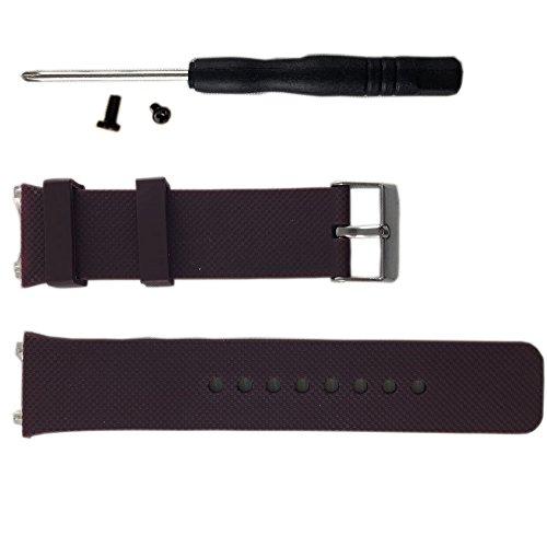 Smart watch DZ09 band made of silcone strap Brown