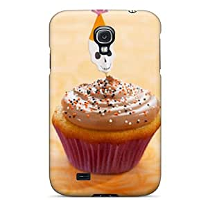 Excellent Galaxy S4 Case Tpu Cover Back Skin Protector Halloween Cupcake