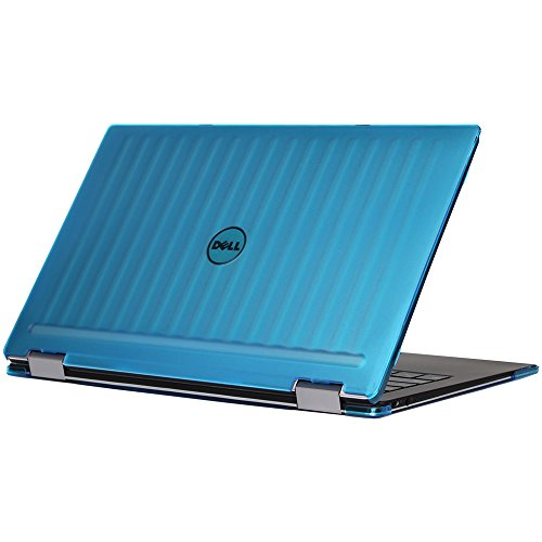 mCover iPearl Hard Shell Case for 13.3 Dell XPS 13 9365 2-in-1 Models (not Fitting Non 2-in-1 XPS 13 Models) Convertible Laptop 2-in-1 9365 - Aqua