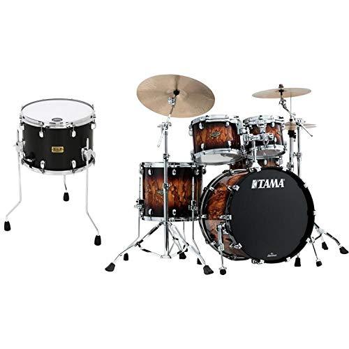 Tama Starclassic Walnut/Birch Lacquer kit w/Duo Snare - Molten Brown Burst