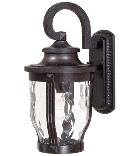Minka Lavery Outdoor Wall Light 8762-166 Merrimack Aluminum Exterior Wall Lantern, 100 Watts, Bronze