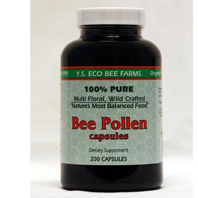 Cheap Bee Pollen 500mg YS Eco Bee Farms 200 Caps