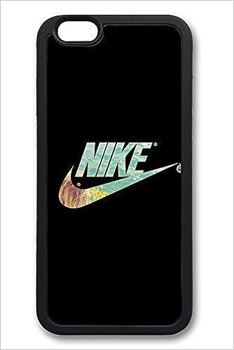 6 Funda, iPhone 6 Caso Logotipo de Nike Negro Ideas Silicona ...