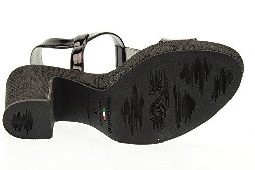 NERO GIARDINI zapatos de las sandalias P717651D / 100 NEGRO