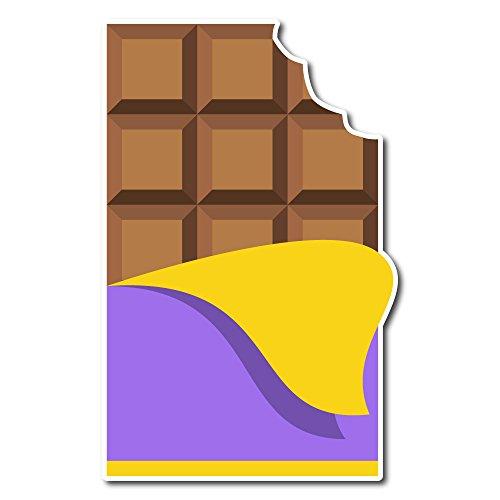 Emoji One Peel & Stick Wall Decal: Chocolate Bar (30.75 in x 48 in)