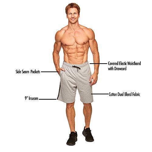Colosseum Active Men's Dylan Cotton Blend Athleisure Short