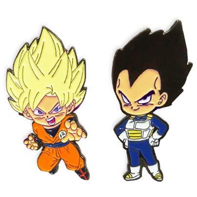 Dragon Ball Super Pins - SS Goku & Vegeta (Set of -